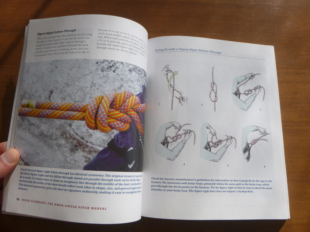 AMGA Single Pitch Manual Knots and Hitches