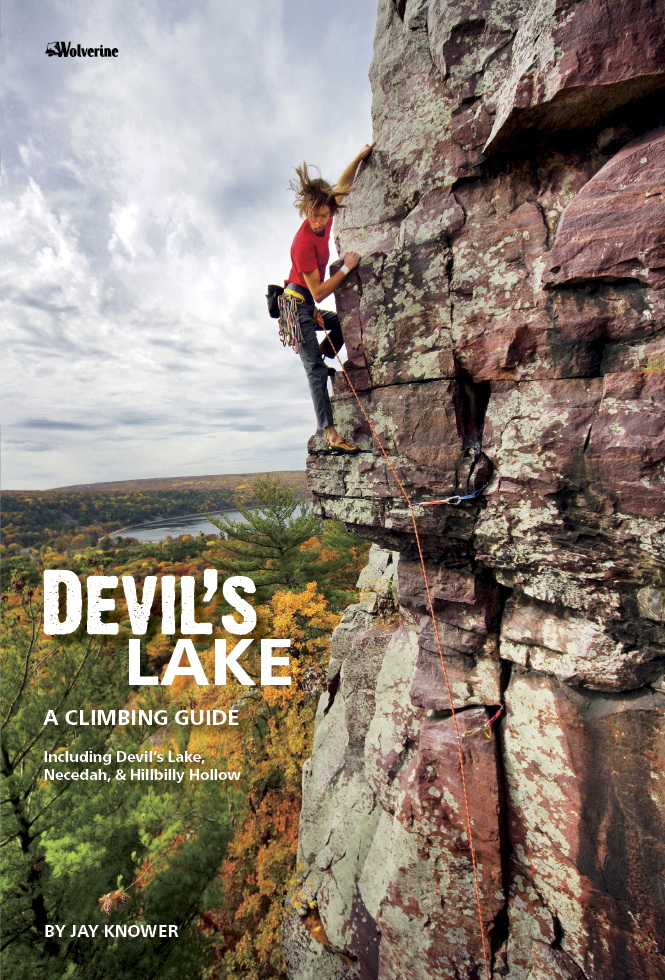 Devils Lake a Climbing Guide Cover